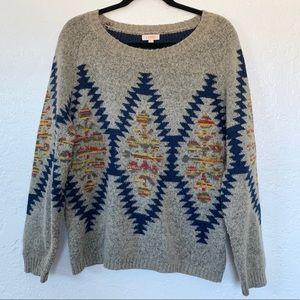 Luxmi Patterned Sweater
